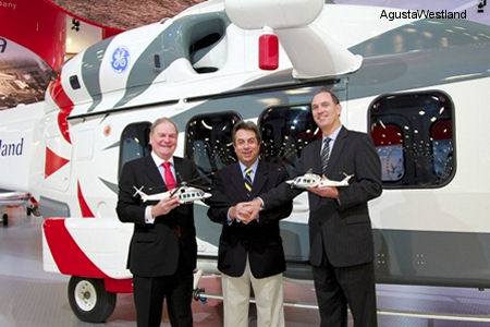 Lease Corporation International and AgustaWestland Sign Agreement for AW139, AW169 and AW189 Helicopters