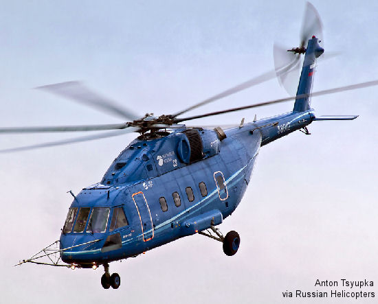 Mi-38 sets altitude record at 14th World Helicopter Championship