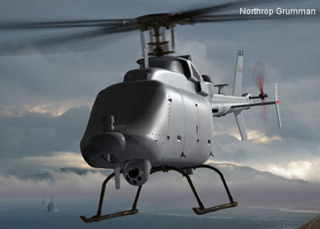 Northrop Grumman to Upgrade Fire Scout Unmanned Helicopter for U.S. Navy