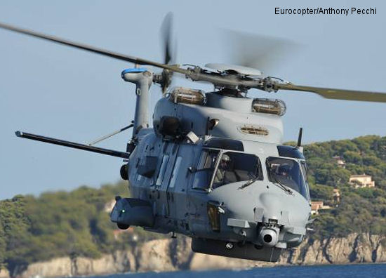 NH90: Eurocopter celebrates two firsts with Belgium and France