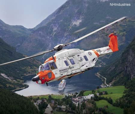 Norway pre-selects the NH90 for future SAR capability