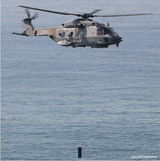 The Italian Navy to Receive Mission Planning and Analysis System for Its NH90 NFH Helicopters