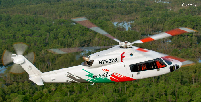 FAA Approves Type Certification for S-76D Helicopter