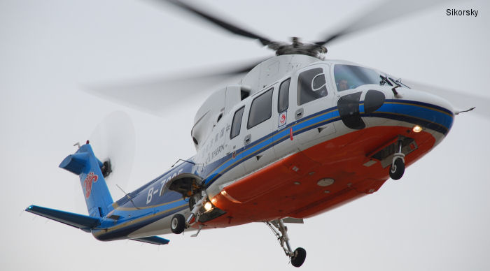 Sikorsky Delivers S-92 and S-76 Aircraft to Zhuhai