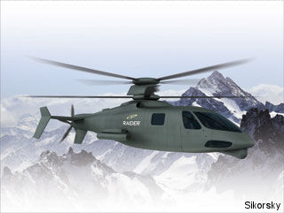 PPG selected by Sikorsky to supply S-97 RAIDER helicopter transparencies