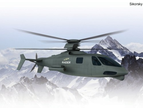 Sikorsky Announces Supplier Team for S-97 Raider Helicopter Program