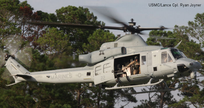 Marine Light Attack Hellicopter Squadron 269 transition to new helicopter