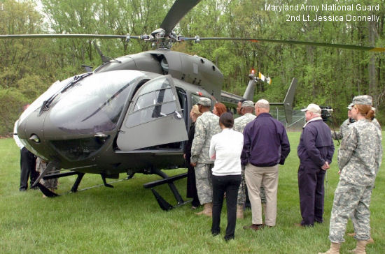 Maryland National Guard celebrates UH-72 arrival