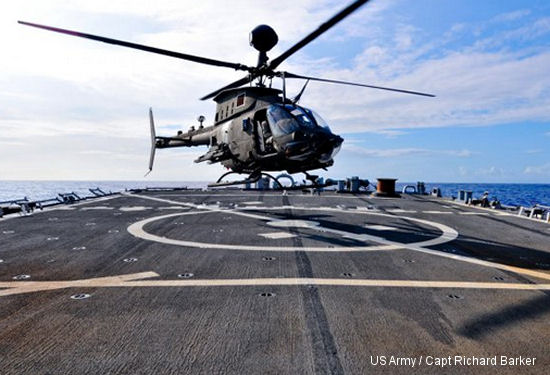 25th CAB and Navy perform deck landings