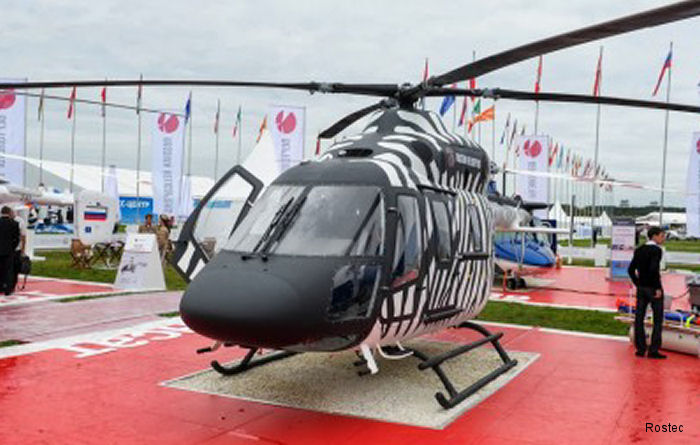 Helicopter Ansat certified