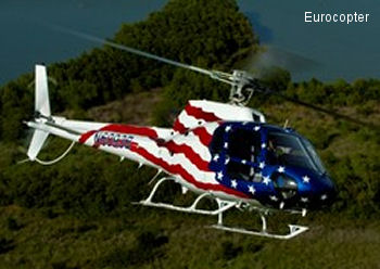 Eurocopter Reinforces Its Capabilities in the U.S. with the Installation of an AS350 Assembly Line