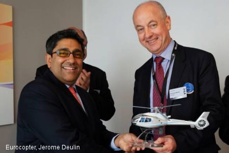 Nepal's Shree Airlines orders eight light Eurocopter helicopters