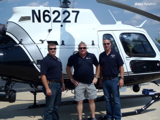 Metro Aviation delivers multi-mission aircraft to Austin Police Department