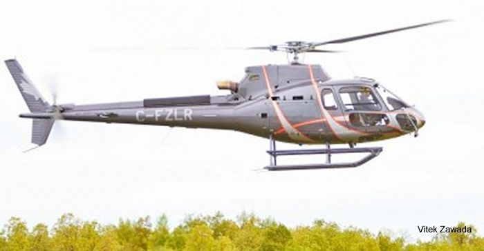 Eurocopter Canada delivers AS350 B3e to commercial operator L R Helicopters Inc