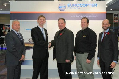 Eurocopter Canada Announces order for AS350 B3e to Yellowhead Helicopters Limited
