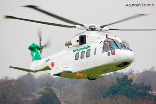 First of Two AW101 VVIP Helicopters Delivered to Turkmenistan