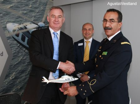 Mauritanian Air Force Orders AW109 Power Helicopters