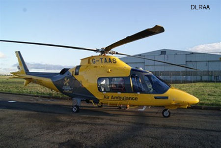 New Air Ambulance helicopter takes off