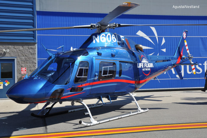AgustaWestland Delivers 10th AW119Kx to Life Flight Network