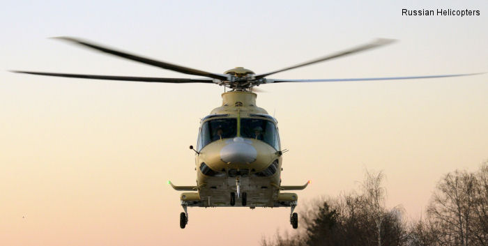 First AW139 assembled in Russia was rolled out at the Helivert assembly plant to perform maiden flight.
