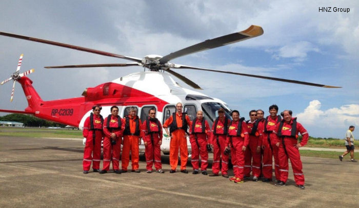 Inaugural Flight – Shell Philippines Offshore Contract