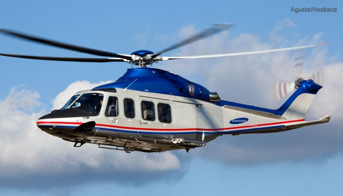 Samsung Techwin Co. Orders Two More AW139 Helicopters