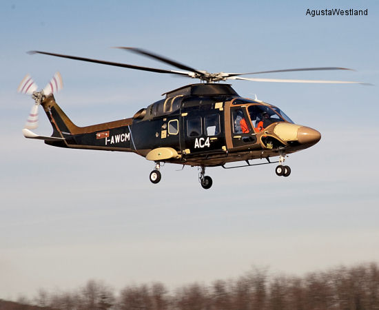 Fourth AW169 Performs Its Maiden Flight