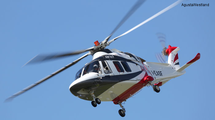AgustaWestland Receives New Order  for the AW169 in Australia