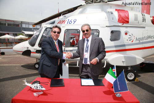 Elitaliana Signs For Three More AW169 Helicopters