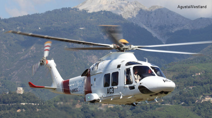 New Generation AW169 Presented to the Italian EMS Community  at HEMS 2013 Conference in Massa Carrara