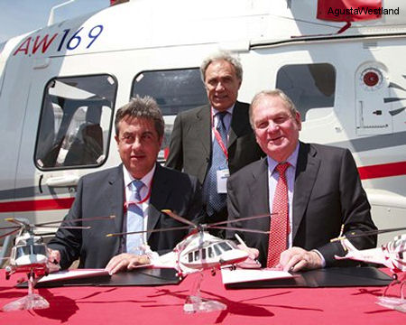 LCI Signs Further Contract for 10 New AgustaWestland Helicopters
