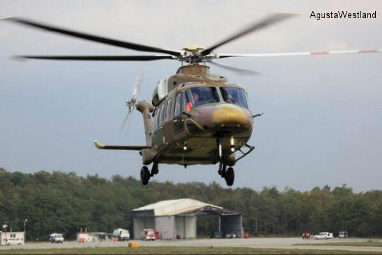 First Production AW189 Performs its Maiden Flight