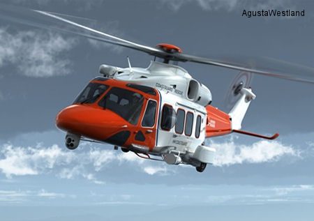 AgustaWestland AW189 Helicopter selected for UK Search and Rescue