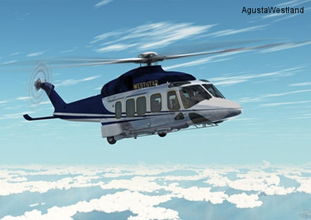 Weststar Aviation Services Signs Contract For Eight AgustaWestland AW139 and AW189 Helicopters At LIMA 2013