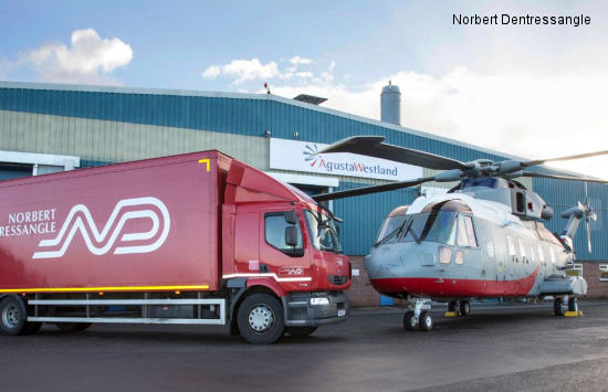Norbert Dentressangle takes off with AgustaWestland