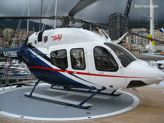 Bell Helicopter Showcases Bell 429 at Monaco Yacht Show 2013