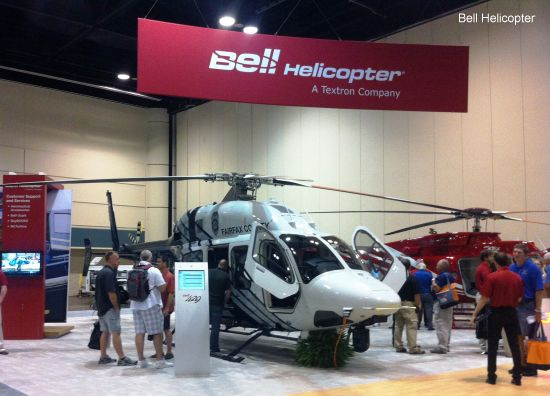 Bell Helicopter Highlights Aircraft Designed to Serve and Protect at 2013 ALEA Conference