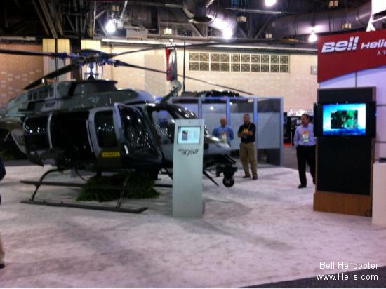 Bell Helicopter Highlights Law Enforcement Aircraft at IACP 2013