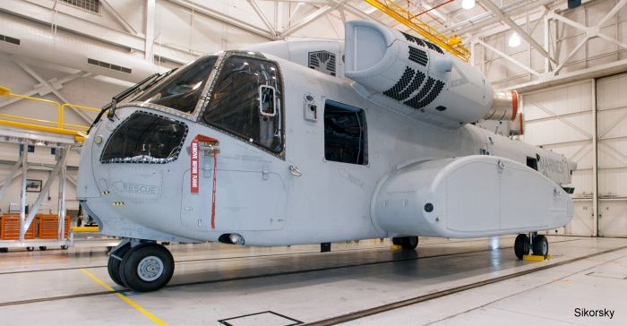 Sikorsky Receives U.S. Navy Award to Build Four CH-53K Operational Test Helicopters