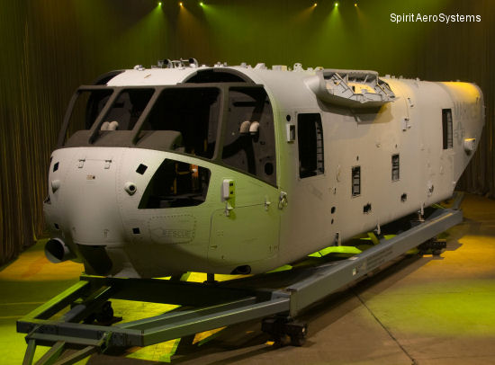 Spirit AeroSystems, Inc. Receives Contract to Supply Aircraft Structures for Four Operational Evaluation CH-53K Heavy Lift Helicopters
