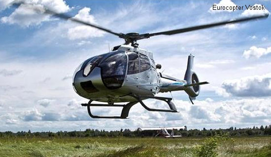 First delivery of a Eurocopter EC130 T2 to the Commonwealth of Independent States