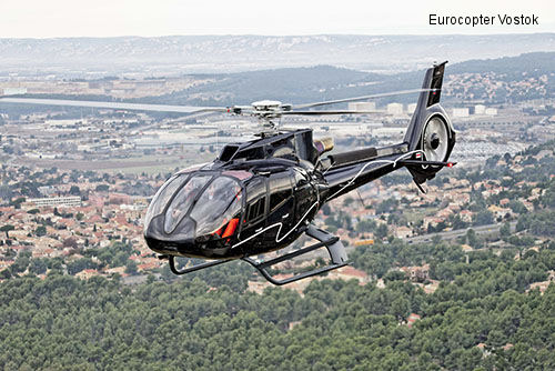 Eurocopter delivers the first EC130 T2 helicopter to Russia for Heliport Moscow, second aircraft to arrive in summer 2014