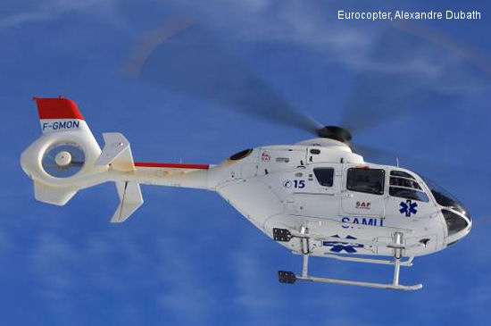 Eurocopter and AVIATORS lead the way in emergency medical services in India with a major contract for the EC135