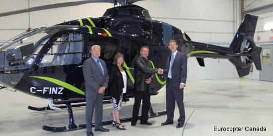 Eurocopter Canada delivers EC135 to Finnair Helicopters Limited