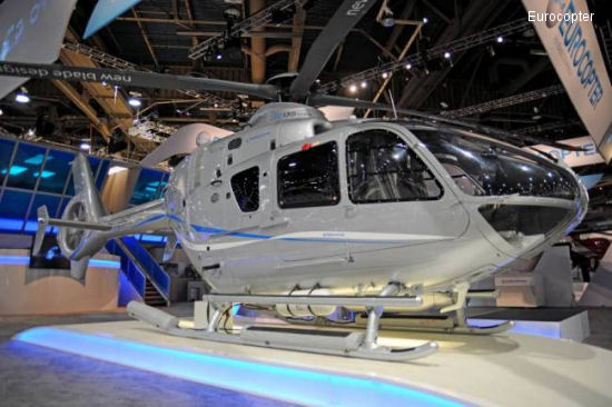 Eurocopter launches the EC135 T3/P3 members of its enhanced helicopter family with orders from the U.S., Norway and Italy