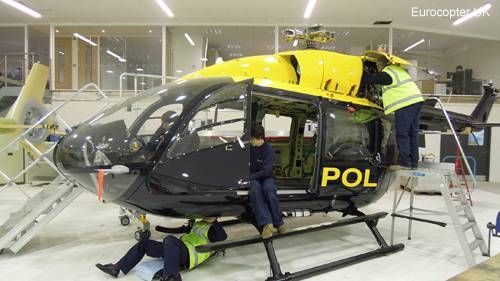 Police Service of Northern Ireland EC145 order marks another Eurocopter helicopter sales success with British Isles law enforcement