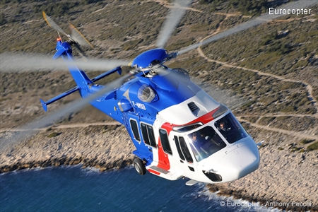 Eurocopter EC175 takes on the world: Global tour to demonstrate the performance capabilities of this next-generation medium-sized helicopter