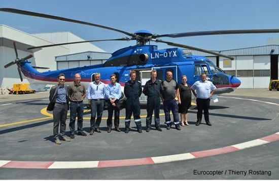DanCopter receives its fourth EC225