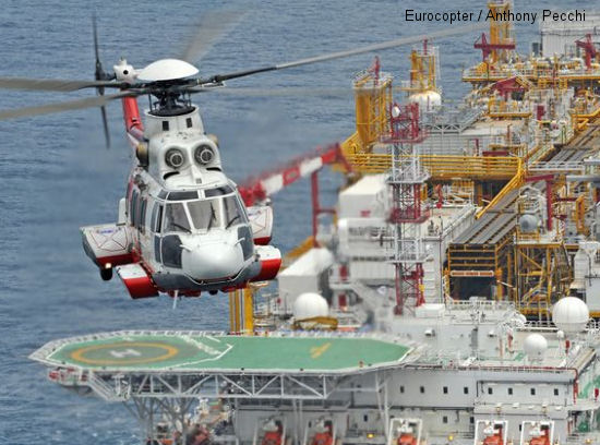 SonAir resumes commercial service with Eurocopter EC225 helicopters