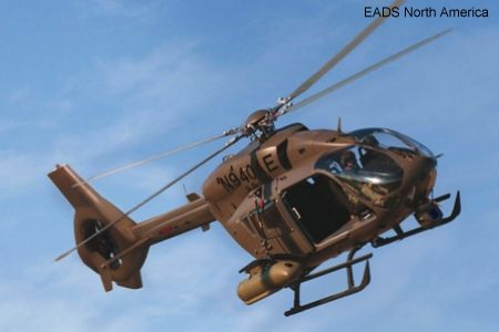 Germany Special Forces Command Set to Fly Eurocopter EC645 T2 Light Utility Helicopter